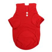Red Plain Dog Polo Shirt