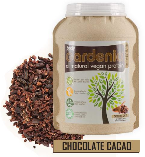 Body Nutrition Gardenia Vegan Protein - Chocolate Cacao