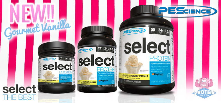 PES Select Protein Gourmet Vanilla - Protein Pick and Mix Tunbridge Wells
