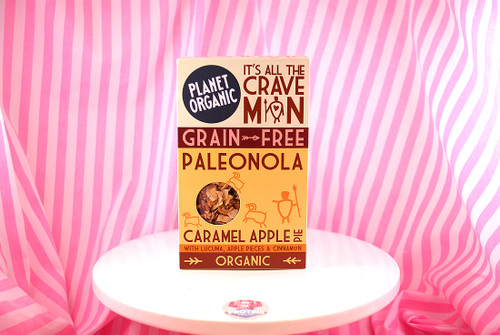 Planet Organic - Caramel Apple Pie Paleonola (350g) (with cinnamon!)