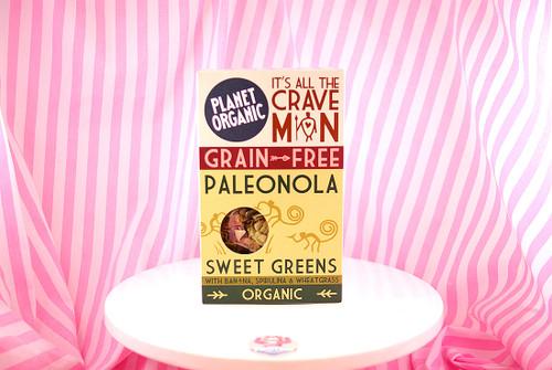 Planet Organic - Sweet Greens Paleonola (350g) #NEW