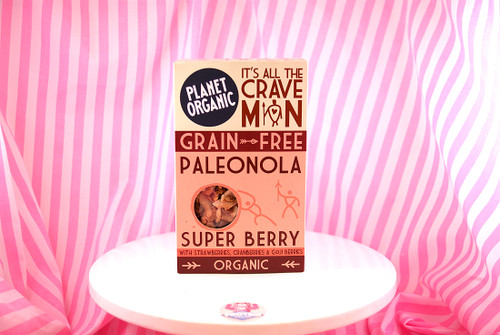Planet Organic - Super Berry Paleonola (350g) #NEW