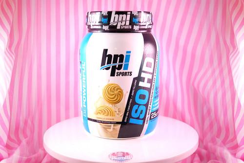 BPI Sports ISOHD Whey Isolate (740g) - Vanilla Cookie #NEW