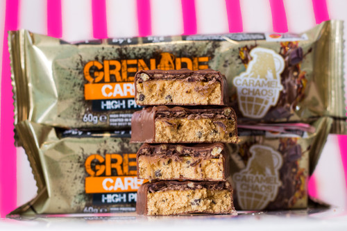 Grenade Carb Killa Low-Carb Protein Bar (60g) - Caramel Chaos. #NEW #FEAT