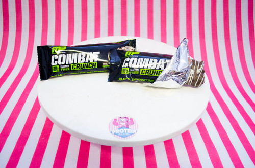 NEW Muscle Pharm Combat Crunch Bar - Cookies & Cream #NEW #FEAT