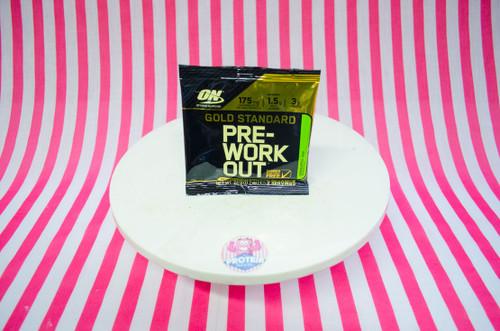 Optimum Nutrition Gold Standard Pre-Workout - Green Apple - 2 Servings #NEW #FEAT