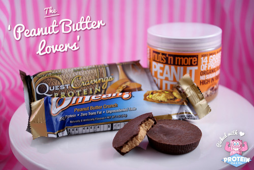 The 'Peanut Butter Lovers' Mix. Picked with love!