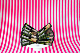The 'Ready for Battle' Mix. Pick and Mix your OWN 12 bar sample box of Combat Crunch today! #FAVE #FEAT #NEW