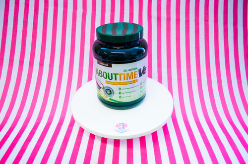 About Time All Natural Vegan Protein Powder - Chocolate (908g)