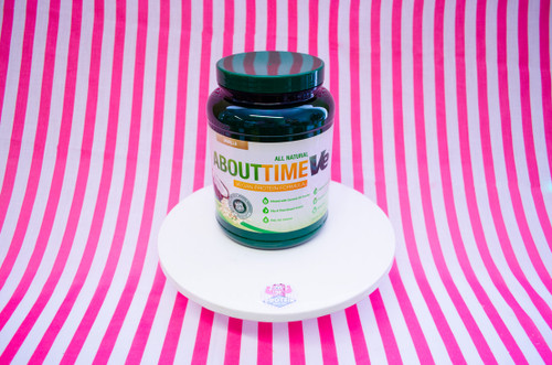 About Time All Natural Vegan Protein Powder - Vanilla (908g) #NEW #FEAT
