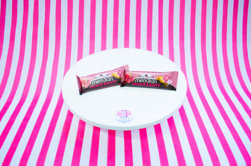 Meridian Bar - Peanut And Berry (40g) #NEW #FEAT
