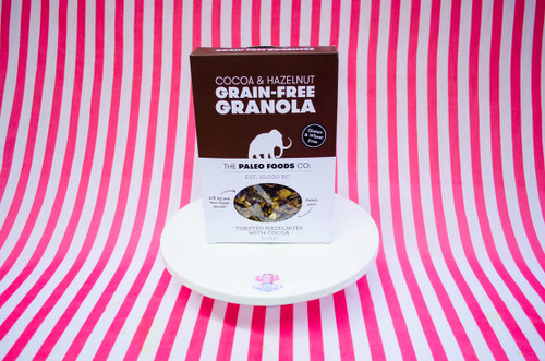 The Paleo Foods Co. Grain Free Granola - Cocoa & Hazelnut 340g #NEW #FEAT