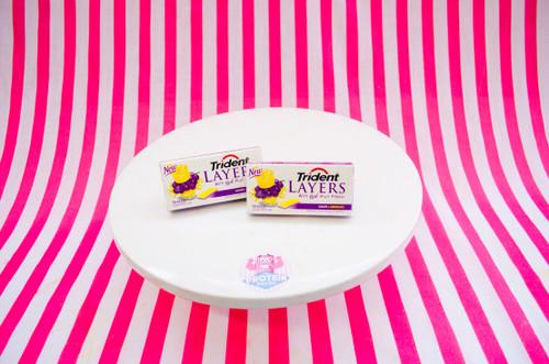 Trident Layers Sugarfree Gum - NEW Grape Lemonade  (14 pieces) #NEW #FEAT