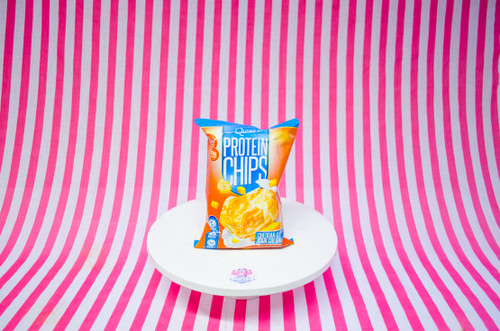 Quest Chips - Cheddar & Sour Cream. Baked, High Protein Quest Crisps! Now in the UK! #NEW #FEAT