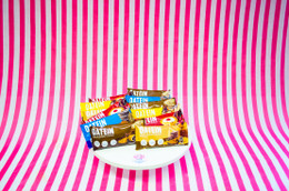 The 'Totally Oat-ally' Mix. Pick and Mix your OWN 12 bar sample box of Oatein Flapjacks today! #FAVE #FEAT #NEW