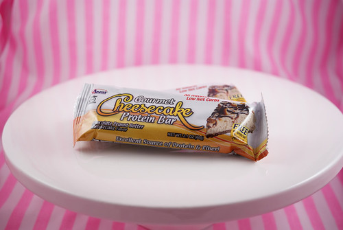 Gourmet Cheesecake Protein Bar - Chocolate Peanut Butter Cheesecake Flavour