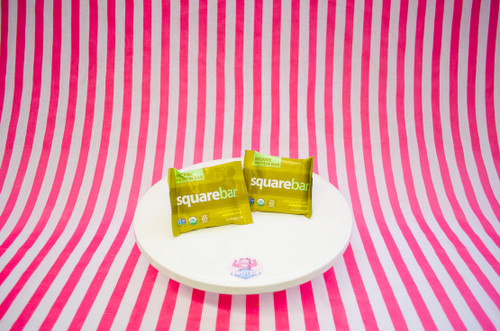 Squarebar Organic Protein Bar - Almond Spice #NEW #FEAT