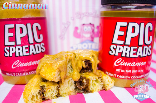 Epic Spreads Cinnamon Flavour Peanut, Cashew & Coconut