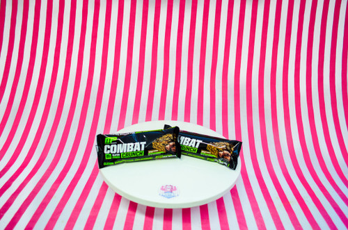 NEW Muscle Pharm Combat Crunch Bar - Chocolate Brownie UK #NEW #FEAT