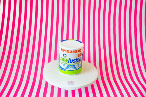 SAN Raw Fusion Vegan Protein Powder - Vanilla Bean #NEW #FEAT