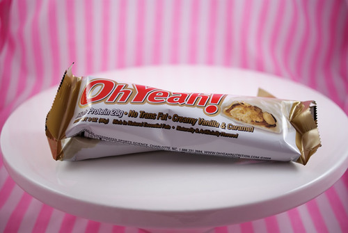 Oh Yeah! Creamy Vanilla Caramel bar.