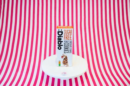 Diablo Sugar-Free Chocolate Striped Peanut Cookies #NEW #FEAT
