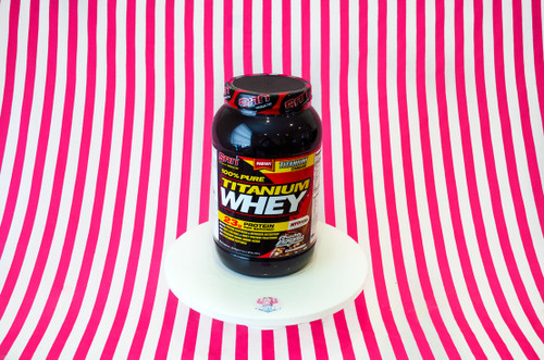 SAN 100% Pure Titanium Whey - Chocolate Rocky Road 903g #NEW #FEAT