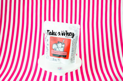 Take-A-Whey Protein Powder - Strawberry Milkshake Flavour #NEW #FEAT