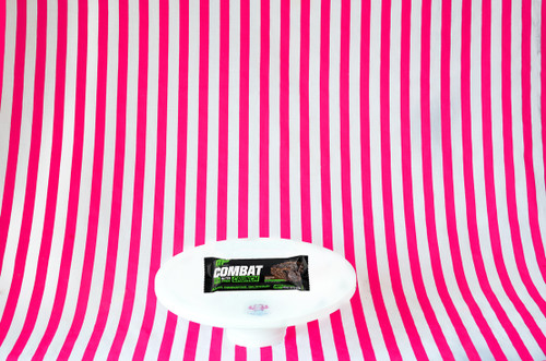 NEW Muscle Pharm Combat Crunch Bar - Chocolate Cake Flavour UK #NEW #FEAT