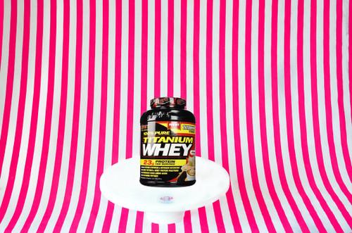 SAN 100% Pure Titanium Whey - Cappuccino Cream 903g #NEW #FEAT