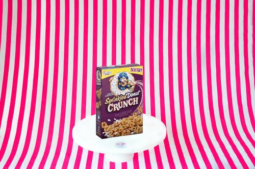 Cap'n Crunch Sprinkled Donut Crunch 353g #NEW #FEAT