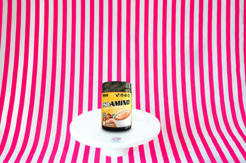 MAN Sports ISO Amino Coffee Creamer Bliss - Hazelnut (30 Servings #NEW #FEAT