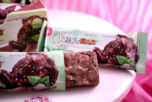 Quest Bars - Mint Chocolate Chunk. NEW in the Mix now!