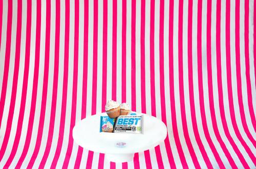 BPI Sports Best Protein Bar - Iced Vanilla Cupcake 65g. #NEW #FEAT