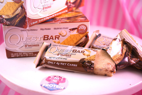 Quest Bars - S'Mores. In the Mix now!