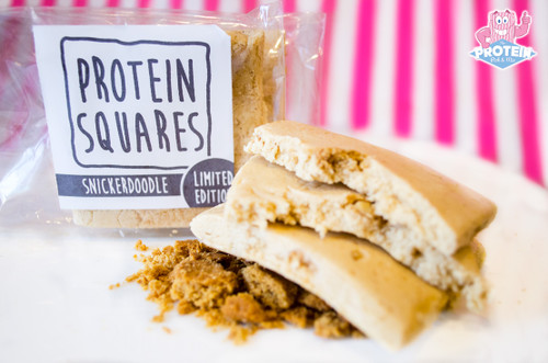 Limited Edition Fit Food Protein Square - Snickerdoodle Flavour 50g #NEW #FEAT
