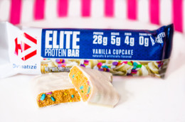 Dymatize Elite Protein Bar - Birthday Cake Flavour 70g #NEW #FEAT