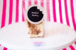 Protein Pantry Hand-Made Protein Bar with OVER 25g protein!! - Milk & Cookies  #NEW #FEAT
