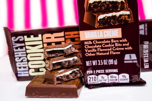 Vanilla Cremé Hershey's Cookie Layer Crunch!!