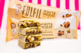 Fulfil White Chocolate Cookie Dough Bar - 60g