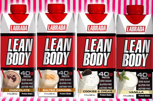 Labrada Lean Body Protein Shake - 500ml #NEW #FEAT