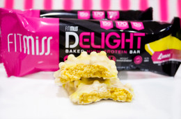 Fit Miss Knobbly Lemon Flavour Oven Baked Protein Bar!!  #NEW #FEAT