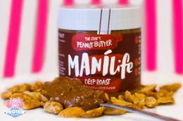 Manilife Natural Deep Roast Crunchy PB - 295g
