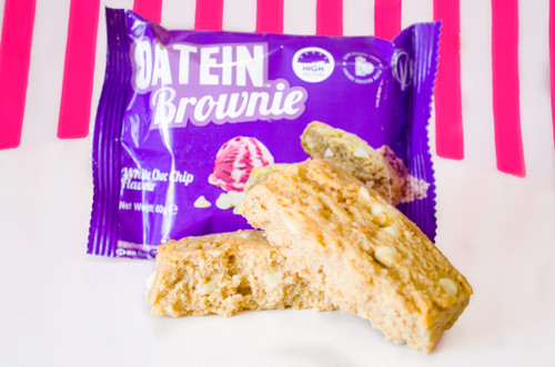 Oatein Protein Brownie - White Chocolate Chip #NEW #FLAVOUR