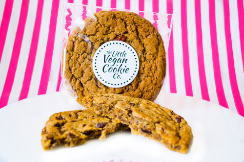 The Little Vegan Cookie Co. Classic Chocolate Chip Cookie  #NEW #FEAT