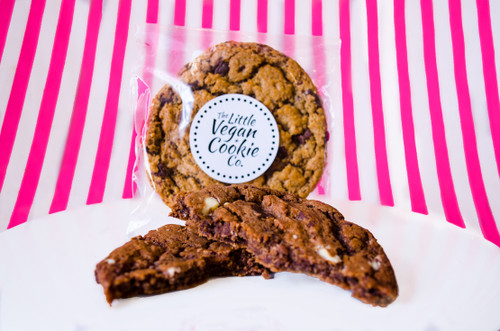 The Little Vegan Cookie Co. Triple Chocolate  #NEW #FEAT