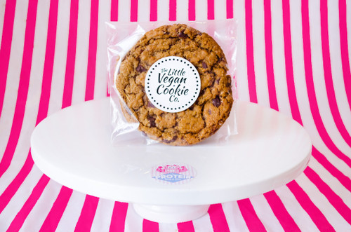 The Little Vegan Cookie Co. Cinnamon Raisin Snickerdoodle Cookie  #NEW #FEAT