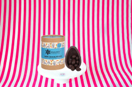 Montezuma's Dark Chocolate Egg With Peanut Butter Truffles Inside - 350g