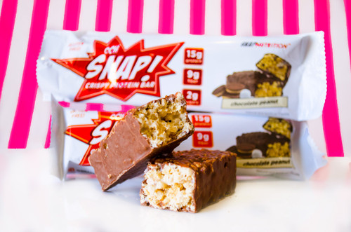 Ooh Snap Nutrition - Crispy Protein Bar Chocolate Peanut #NEW #FEAT