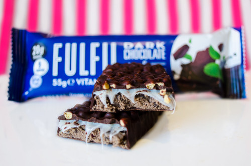 Fulfil Protein Bar  Dark Chocolate Mint #NEW #FEAT